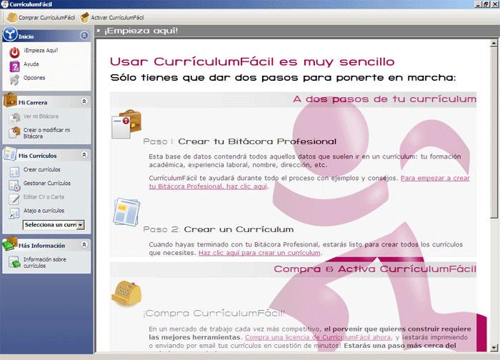 CurrículumFácil: Crear Curriculum con Solo 2 Pasos.